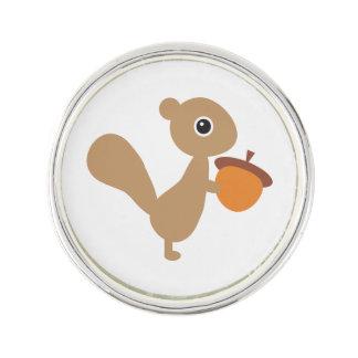Pin's Pin de revers d'écureuil