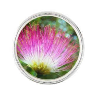 Pin's Pin persan de revers de fleur d'arbre en soie