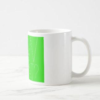 Piqué cousez ce qui ? Vert Mug