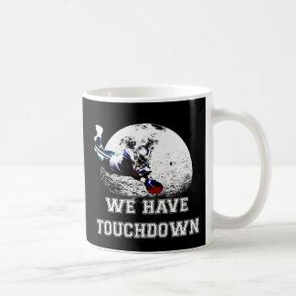 "Piqué de football américain ""nous avons le mug blanc"