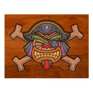 Pirate 813 de Tiki Carte Postale