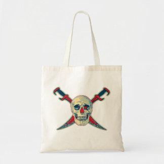 Pirate (crâne) - économisez le  de Fourre-tout Tote Bag