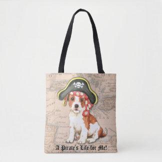 Pirate de Russell de pasteur Tote Bag