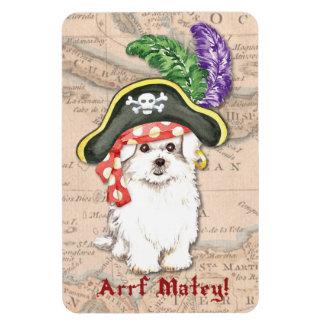 Pirate maltais magnet flexible