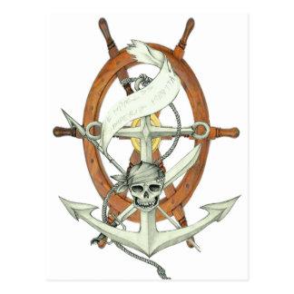 Pirate Sigil Carte Postale