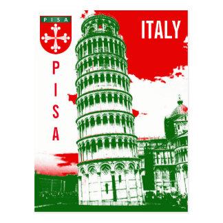 Pise, Italie - la tour penchée Carte Postale