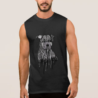 Pitbull T-shirt Sans Manches