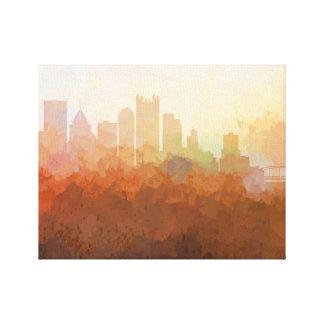 PITTSBURGH Horizon-Dans la toile de nuages