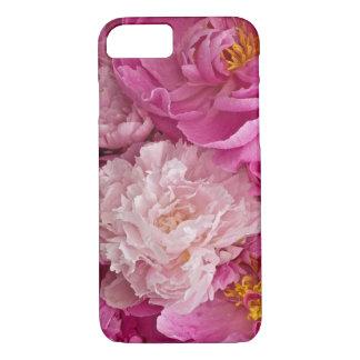Pivoine rose sensible de fille je téléphone le cas coque iPhone 7