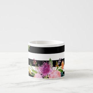 PixDezines floral/aquarelle/ranunculus Tasse Expresso