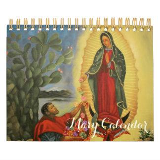 PixDezines Maagdelijke Mary/de Verschijningen Kalender