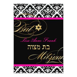 PixDezines Olivia Damask, de kleur DIY van de 12,7x17,8 Uitnodiging Kaart
