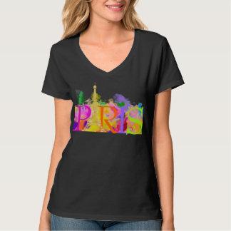 PixDezines Paris, course de couleur T-shirt