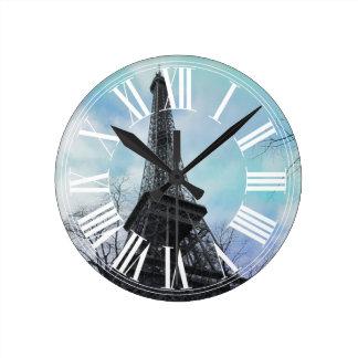 PixDezines Paris, Tour Eiffel Horloge Ronde