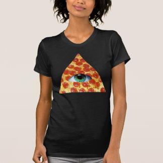 Pizza d'Illuminati T-shirt