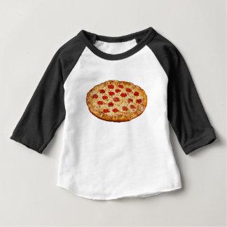 Pizza solitaire - produits multi t-shirt pour bébé
