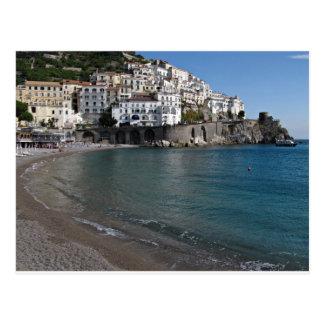 Plage d'Amalfi Carte Postale