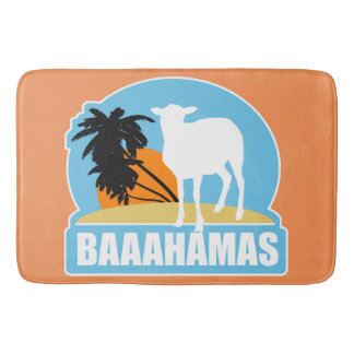 Plage de Baaahamas Tapis De Bain