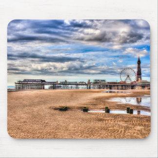 Plage de Blackpool Tapis De Souris