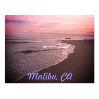 Plage de Malibu Carte Postale