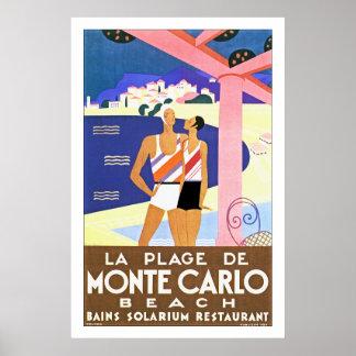 Plage De Monte Carlo de La