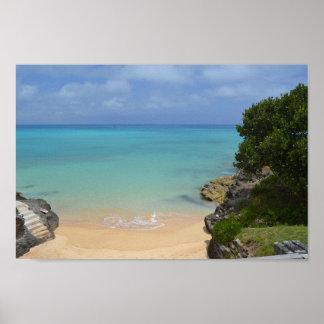 Plage en Bermudes
