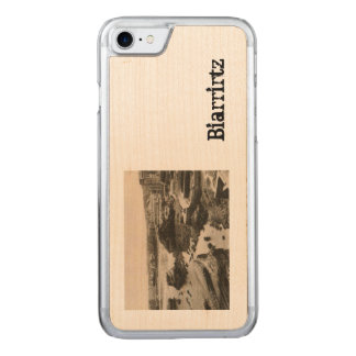 Plage France de Biarrirtz Coque Carved iPhone 8/7