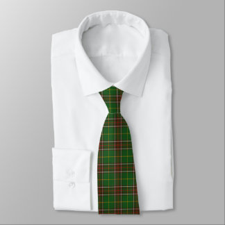 Plaid de cravate de tartan de Terre-Neuve