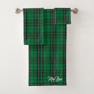 Plaid de tartan écossais de chasse de MacLean de