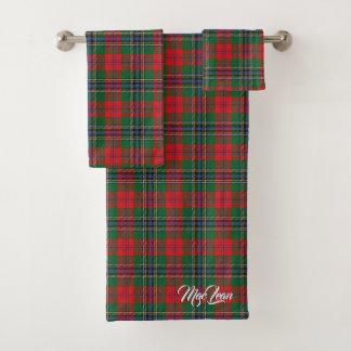 Plaid de tartan écossais de MacLean de clan de