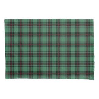Plaid de vert de tartan de secteur de l'Ecosse de Housse D'oreillers