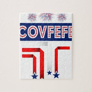 Plaisanterie d'atout de Covfefe pour 4 juillet la Puzzle