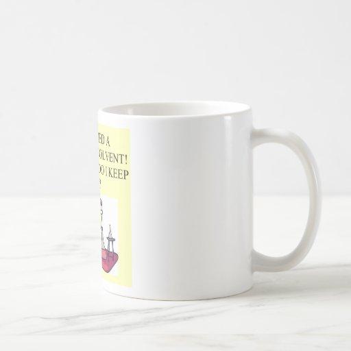 plaisanterie de chimie mug blanc