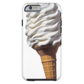 Plan rapproché de crème glacée coque iPhone 6 tough