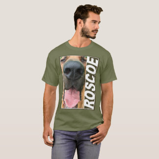 Plan rapproché de Roscoe T-shirt