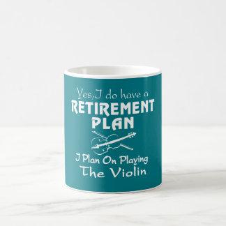 Plan sur jouer le violon mug