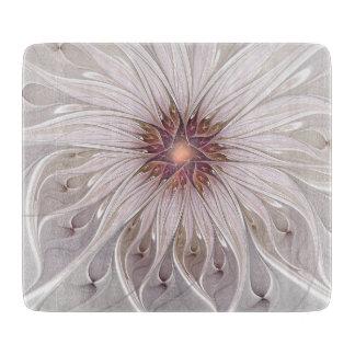 Planche À Découper Art floral de fractale d'abrégé sur imaginaire