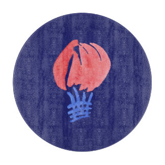 """Planche À Découper Ballon à air 12"""" conseil de taille du verre"""