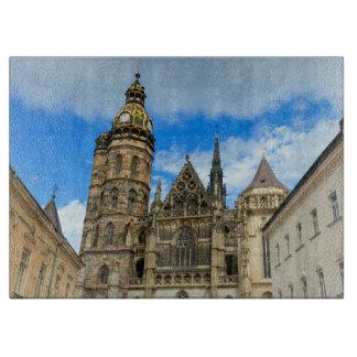 Planche À Découper Cathédrale de St Elisabeth à Kosice, Slovaquie