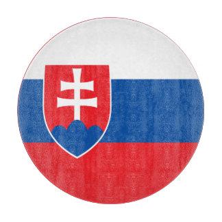 Planche À Découper Drapeau de la Slovaquie