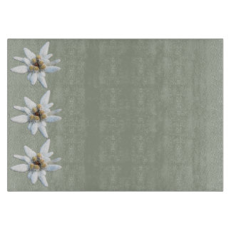 Planche À Découper Fleur alpine d'edelweiss