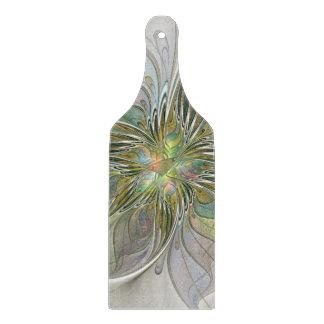 Planche À Découper Fleur moderne d'art de fractale d'imaginaire