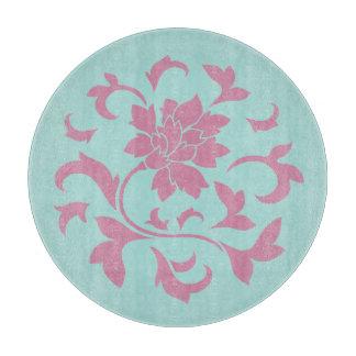 Planche À Découper Fleur orientale - circulaire de Shell de ventouse