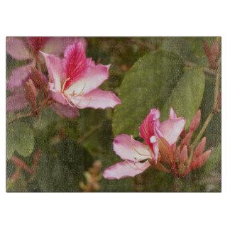 Planche À Découper Fleurs florales de jardin de fleurs