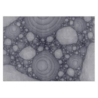 Planche À Découper Fractale grise
