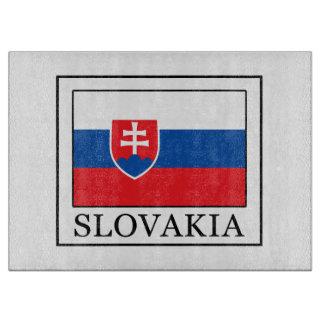 Planche À Découper La Slovaquie