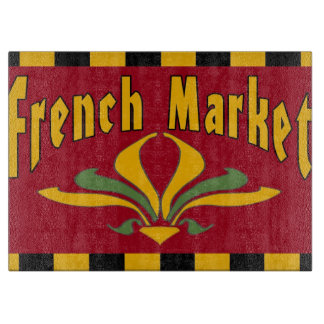 Planche À Découper Marché français