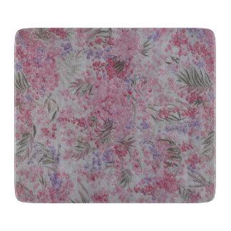 Planche À Découper Motif floral