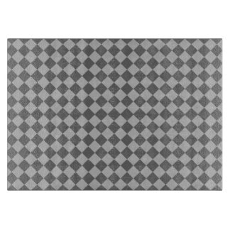 Planche À Découper Motif gris de diamant de combinaison par Shirley