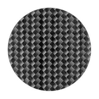 Planche À Découper Motif noir moderne élégant d'armure